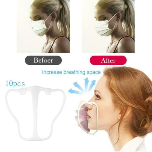 10pcs support de couverture de masque 3D support de support intérieur