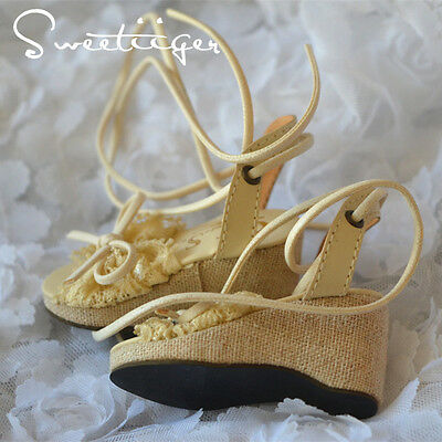 【Tii】1/4 BJD shoes lace fantasy sandals MSD MDD Super Dollfie mini fee DK Luts