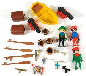 Vintage-Playmobil-Pirates-Accessories-Mixed-Bundle-F593
