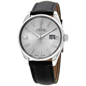 Milus-Snow-Star-Heritage-Automatic-Silver-Dial-Men-039-s-Watch-HKIT001