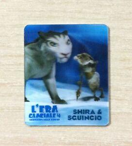 CARD KINDER MERENDINE -SERIE- L'ERA GLACIALE 4 - MINI CARD N°11 SHIRA E SGUINCIO ruYUU4mI-09120347-550323173