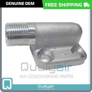 Details about NEW OEM A/C High Side Compressor 10P08 Manifold Discharge  Fittings - CM403017