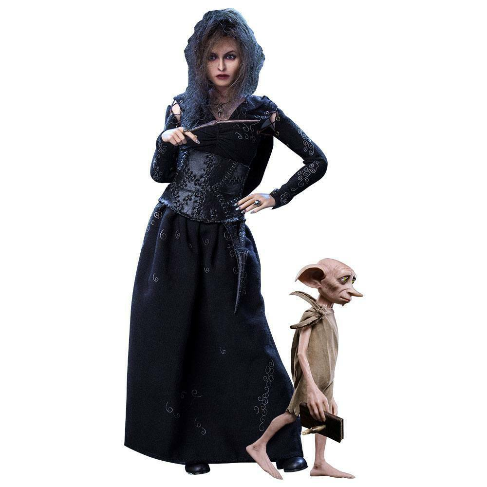Harry Potter 1 6 Bellatrix Lestrange Lestrange Lestrange Deluxe Version with Dobby Estrella Ace SA0052 c0b022
