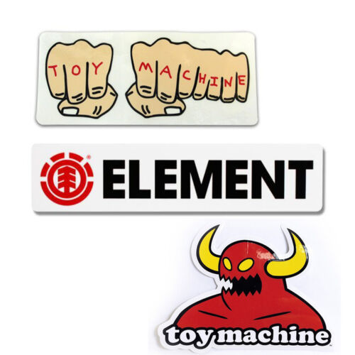 Assortiti Logo Skate Adesivi Element Toy Machine Adesivo Skateboard