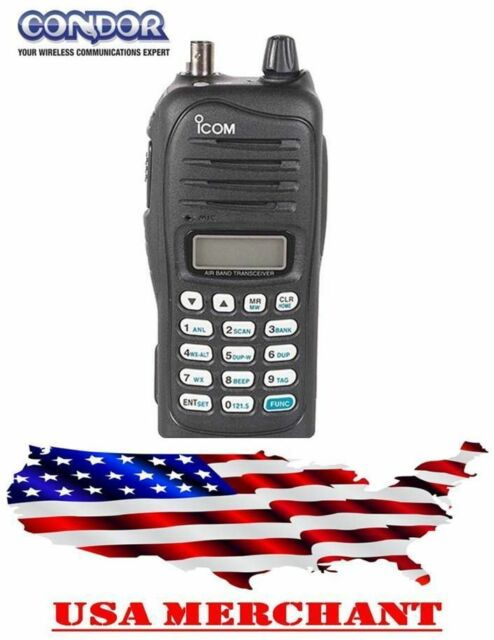 0fb501d17d0 ICOM IC-A14 VHF AirBand Handheld Transceiver IC A14 Avionics AM and FM for sale  online