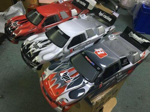 E FIRESTORM 1OT FLUX HPI RACING 1//10 SCALE RC TRUGGY Truck Body Fits crawler