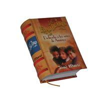 Hardcover Miniature Book In Spanish Jose Marti La Edad De Oro 428p Easy Read