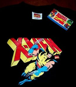 WOLVERINE-X-MEN-Marvel-Comics-T-Shirt-SMALL-NEW