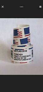 US Forever Flag Postage Stamps roll of 100 FAST FREE SHIPPING!