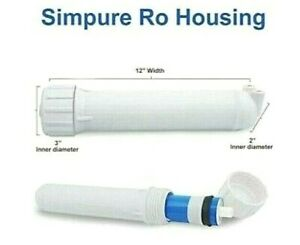 SimPure-Water-Reverse-Osmosis-Membrane-Housing-3012-with-1-4-034-Quick-Connect