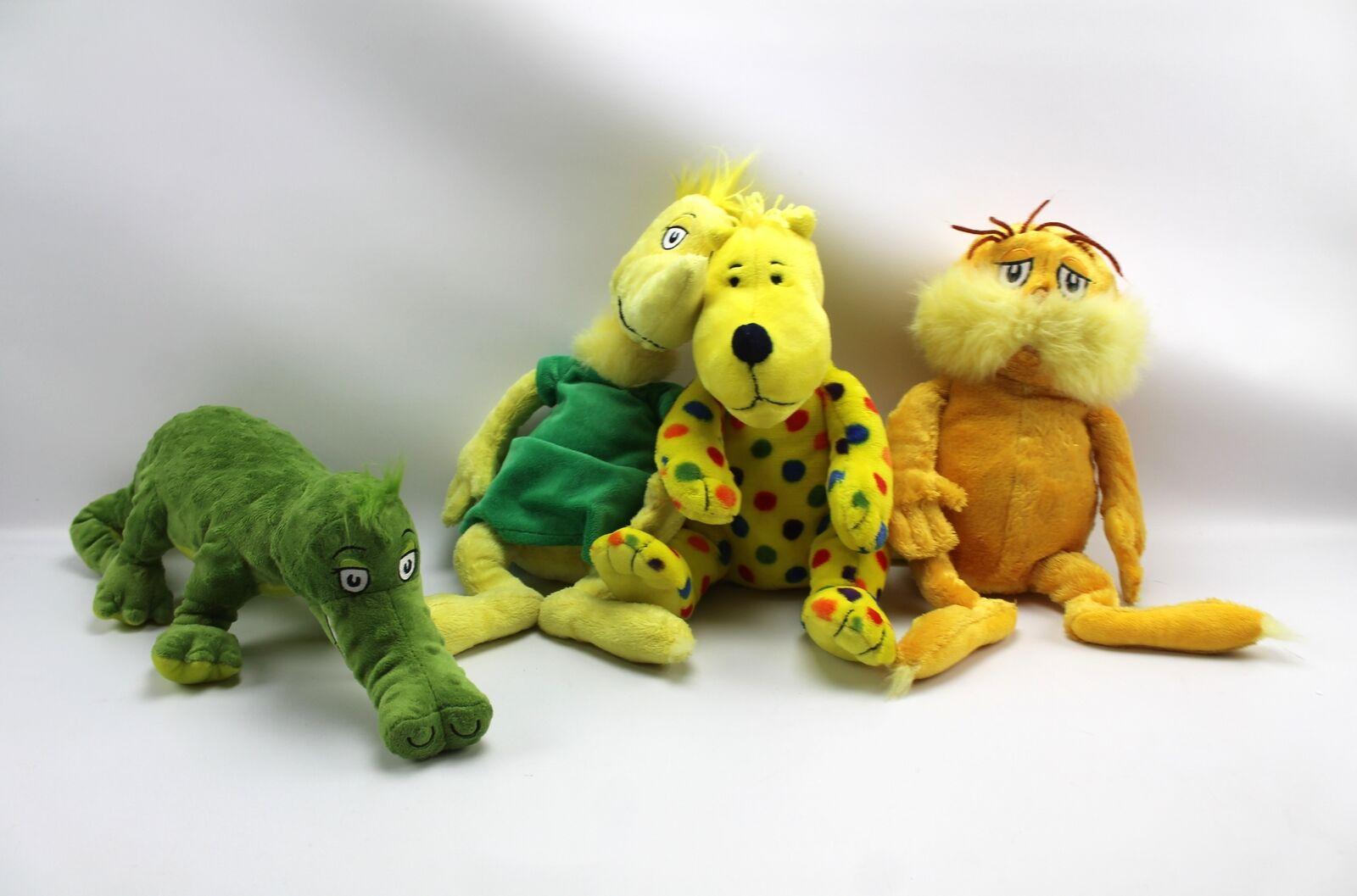 Dr. Seuss Peluche Kohl's Cochees Lote Lorax Sam Crocodile Spot