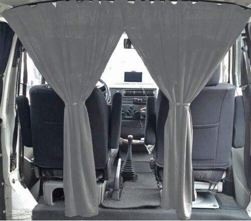 Vw t3 Transporteur court cabines séparation MESURE RIDEAUX RIDEAUX Gris pr70