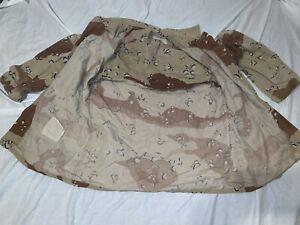USMC-ARMY-OIF-I-Desert-Chocolate-Chip-6-COLOR-Camouflage-Coat-JACKET-MEDIUM-REG