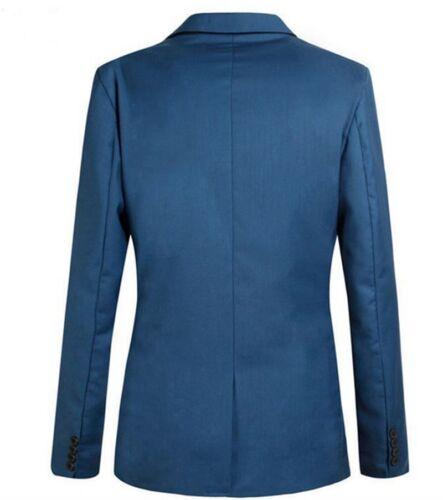 Stylish Men/'s Casual Slim Fit Formal One Button Suit Blazer Coat Jacket Tops
