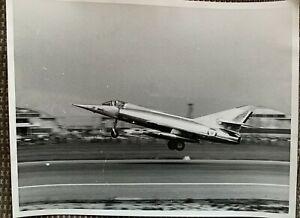 "RAF DASSAULT ETENDARD IV ORIGINAL 'THE AEROPLANE"" TEMPLE PRESS LTD PHOTOGRAPH"