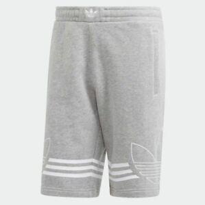 adidas shorts mens grey