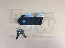 1 X Compression Latch / Lock LARGE BLACK Horsebox Trailers Locker Doors Tack Box