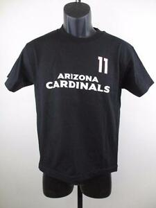 New-Minor-Flaws-Arizona-Cardinals-11-Fitzgerald-Youth-Medium-10-12-Black-Shirt