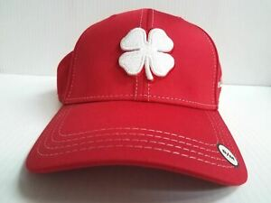 dd34d0fe5 Details about Black Clover Cap BC Style 42 Luck Stretch Fit Red Golf Hat  Live Lucky