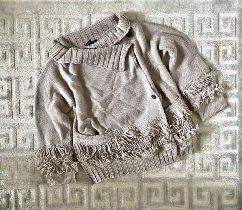 Piazza Sempione Fringe Sweater