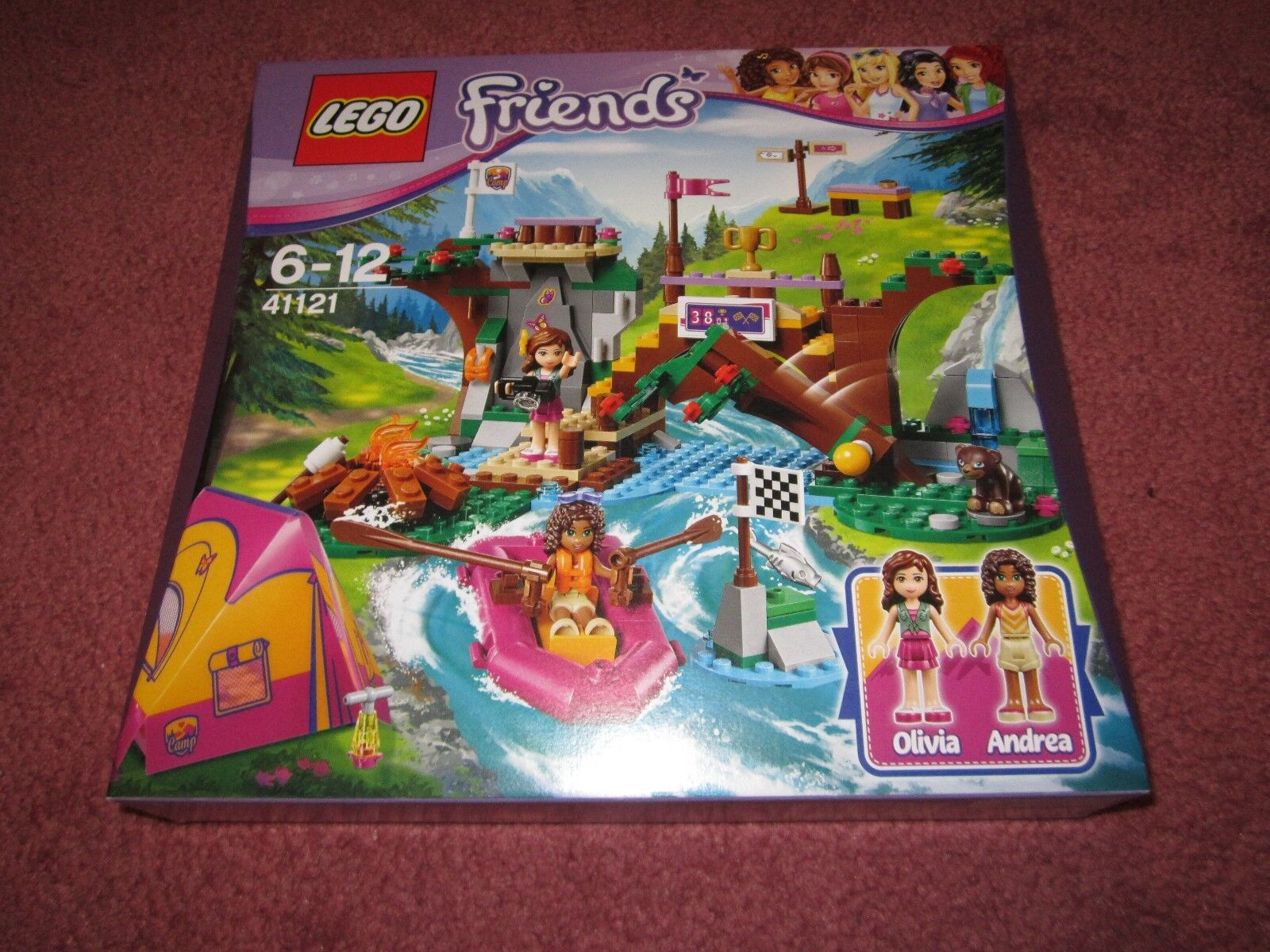 LEGO FRIENDS ADVENTURE CAMP RAFTING MIXED 41121 - NEW BOXED SEALED