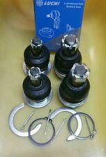 Ball joint set 4pcs Landcruiser VX, GX Amazon, Lexus LX470 98-07 Upp & Low