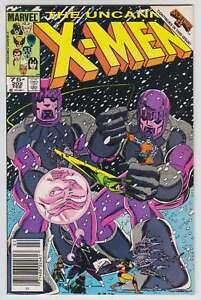 L6216-Uncanny-X-Men-202-Vol-1-MB-NM-Estado