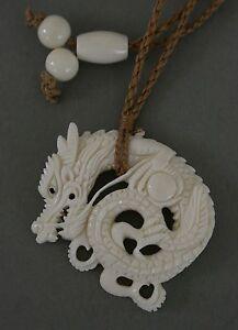 Offen Bone Carving Drache Drachen