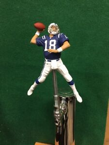 Peyton-Manning-TAP-HANDLE-Indianapolis-Colts-Beer-Keg-NFL-Football-Blue-Jersey