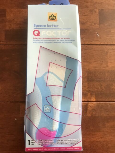 Q Factor Insoles by Spenco Medical