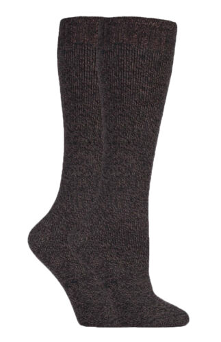 Ladies Thick Warm Wool Cushioned Knee High Hiking Socks for Wellington Boots
