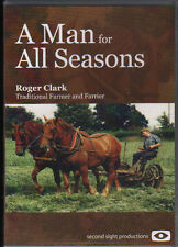 Heavy Horse, Farming DVD: A Man for All Seasons: Roger Clark Farmer and Farrier