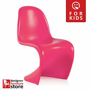 Replica-Verner-Panton-S-Dining-Cafe-Chair-Kids-Version-Matte-Pink