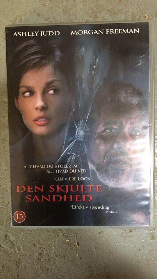 Den skjulte sandhed, DVD, thriller