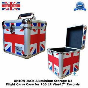 1-UNION-JACK-Aluminium-Storage-DJ-Flight-Carry-Case-for-100-LP-Vinyl-7-034-Records