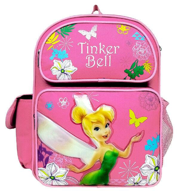 "/""TINKER BELL/"" Disney Back Pack NEW Tink-Blue"