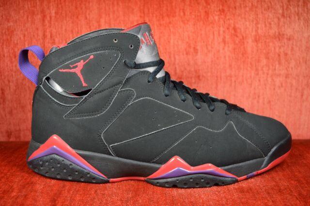 lowest price 319c9 4c55d 2012 Nike Air Jordan 7 Retro Raptors Dark Charcoal 304775018 Sz 9 I2