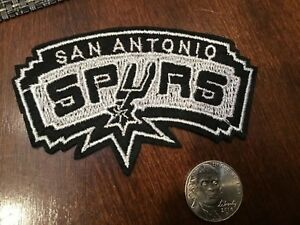 """Sports Spurs San Antonio 3.5/""""W Basketball Embroidered Iron On Patch"""