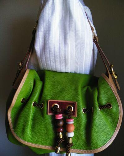 bolso Vampiro Green Nwot Pebbeled cuero de tTC6Bqa1