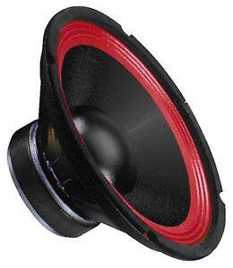 2x-Monacor-20cm-8-034-PA-Bass-200mm-Lautsprecher-Tieftoener-8-Ohm-SP-200PA-PAAR