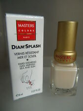 MASTERS COLORS DIAM'SPLASH VERNIS résistant mer et soleil NAIL 111 rose innocent