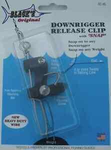 Blacks Rc-95 Downrigger Release Clip Mit Schnapp 15404 Delikatessen Von Allen Geliebt Sport