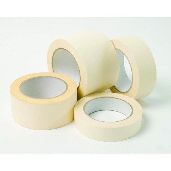General Purpose Masking Tape Easy Tear Paper DIY Painters Decorators 50M Rolls