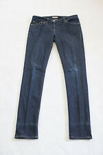 Burberry London Women's Denim Jeans Blue Kensington Skinny Leg Button Pockets 29