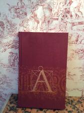 """Folio Society 'A IS FOR OX""""  LYN DAVIS slip box 2006"""