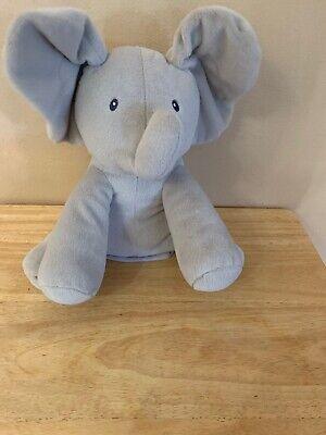Elephant Animated Flappy Peek Boo Gund Baby Plush Toy Plays Sings Music Animal