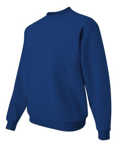 M L NuBlend Crewneck Sweatshirt XL 562 Pullover JERZEES NEW Men/'s Size S