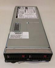 HP BL460c G5 2x Quad Core 2.66GHz E5430 16GB RAM 2x 72GB 15K SAS Blade server