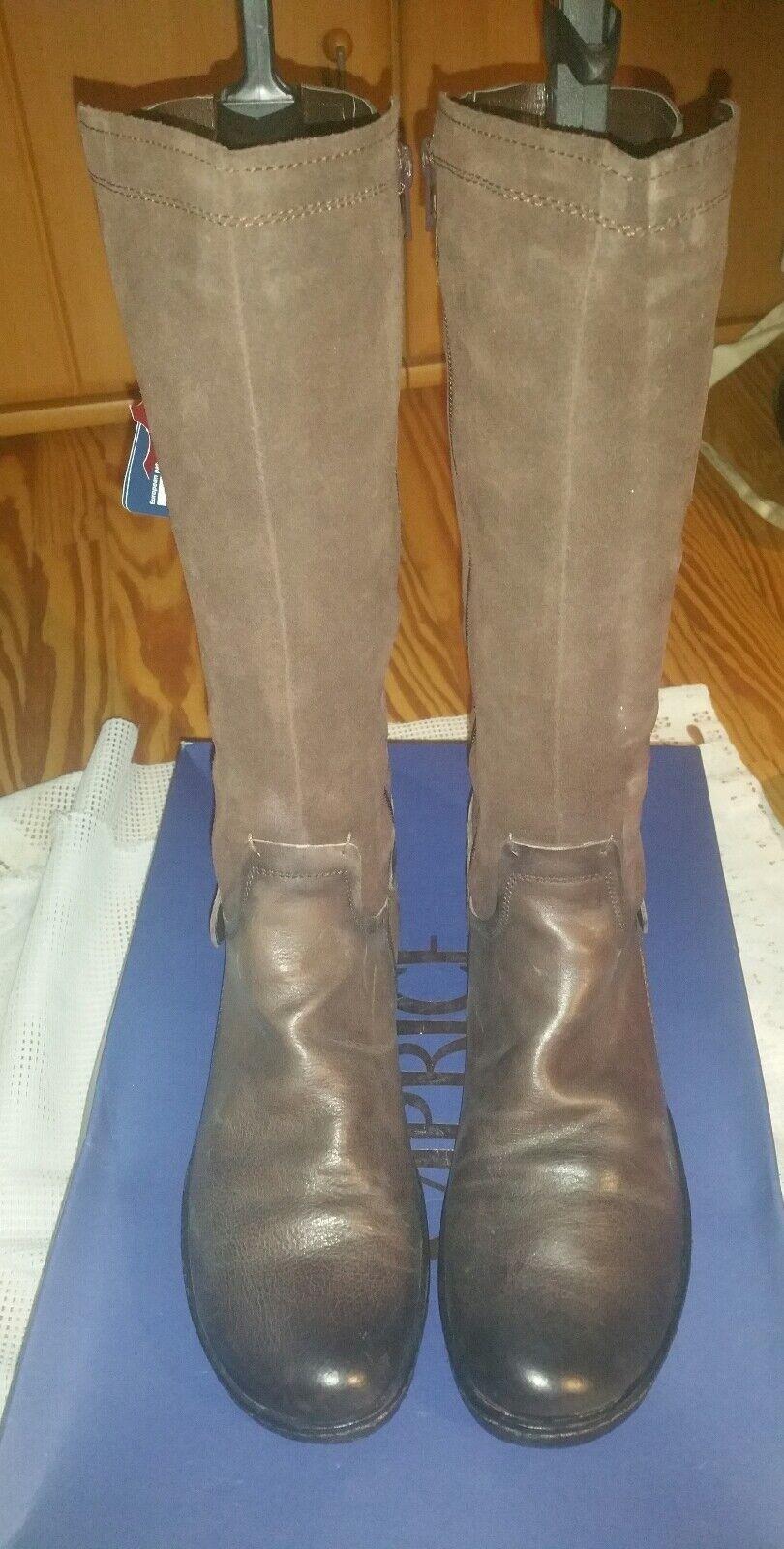 Top caprice zapatos señora botas señora botas de invierno marrón