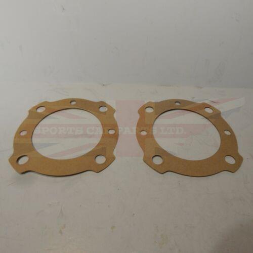 Pair of New Rear Axle Shaft Wheel  Gaskets MG Midget Healey Sprite Bugeye